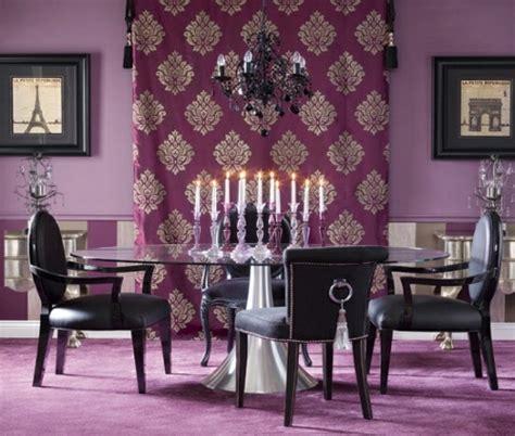 runder speiseraum teppiche 27 grelle und farbenfrohe esszimmer design ideen
