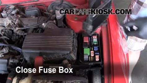 replace a fuse: 1993 1997 toyota corolla 1996 toyota
