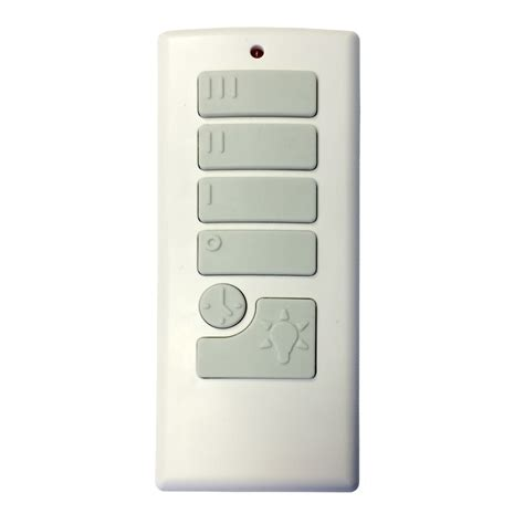 harbor breeze fan remote shop harbor breeze off white handheld universal ceiling