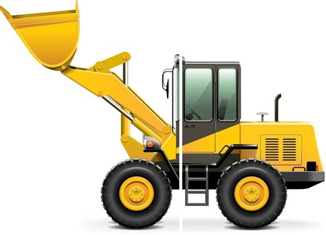 Digger Wall Stickers construction digger jcb style childrens nursery wall