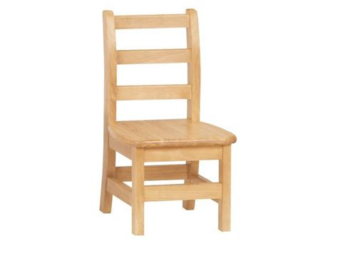 Wooden Library Chair by Ladderback Wooden School Library Chair 10 Quot H Preschool Chairs