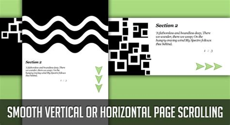 tutorial scrolling website smooth vertical or horizontal page scrolling with jquery