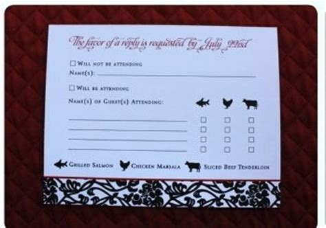 Weddingwire Rsvp by Rsvp Card Question Weddings Planning Etiquette And