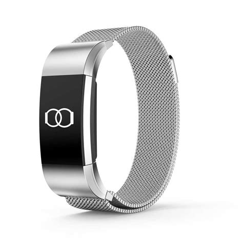 Fitbit Charge 2 Silver Bracelet