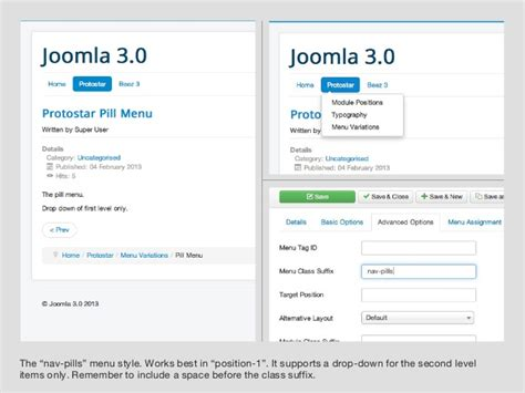 protostar joomla template a guide for joomla 3 s protostar template