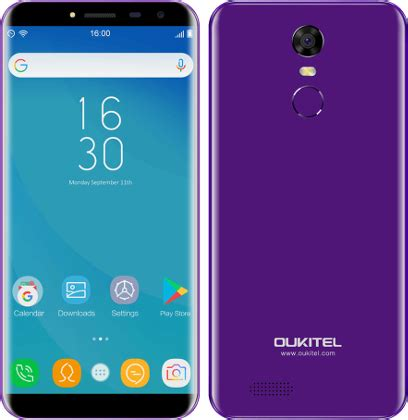 oukitel c8 manual / user guide instructions download pdf