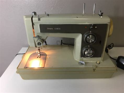 Sears Kenmore Sewing Machine Shop Collectibles Online Daily