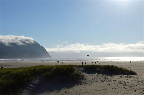 cannon beach and seaside scenes