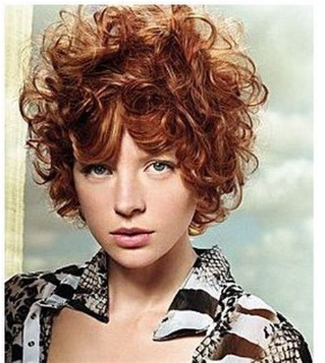 hairstyles curly red hair short curly red hairstyles