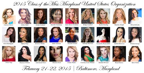 2015 Miss Maryland United States Tickets, Sat, Feb 21, 2015 at 5:00 PM   Eventbrite