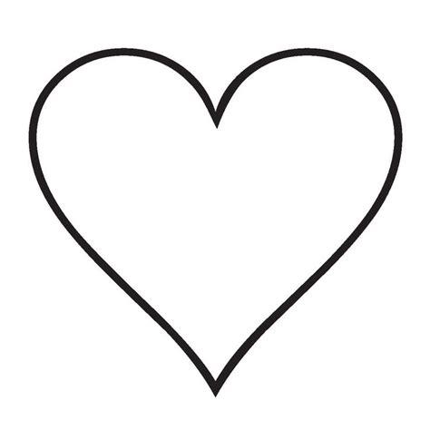 imagenes de corazones simples corazones para colorear simples buscar con google