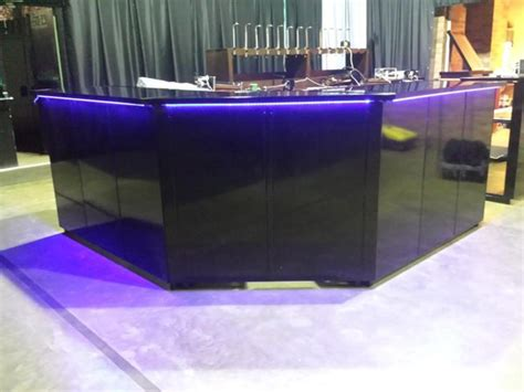 corner bar black secondhand chairs and bar units