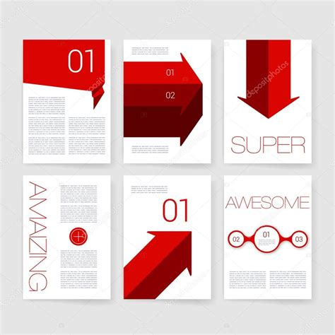 brochure design templates collection layout free vector in templates vector brochure design collection applications