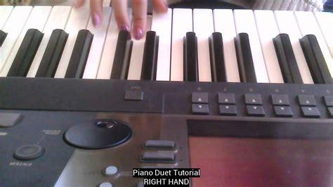 tutorial piano duet easy piano duet tutorial youtube