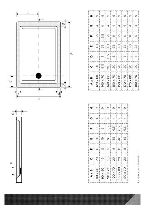 piatto doccia 160x80 piatto doccia low in acrilico bianco 160x80 h 4 con
