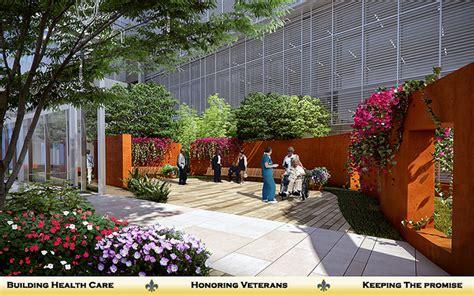 Outpatient Courtyard   Southeast Louisiana Veterans Health
