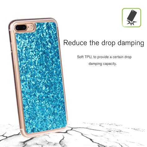 Glitter Soft Iphone luxury bling glitter phone for apple iphone 7 plus