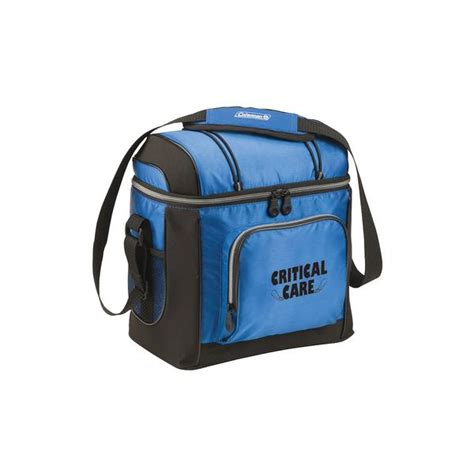 coleman go 16 can soft cooler coleman 16 can soft side blue cooler with removable liner