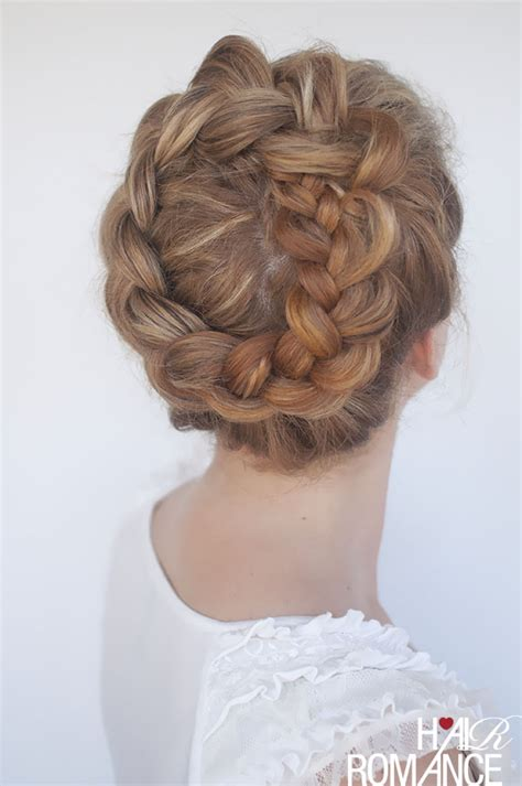 does the braid sealer make the ends hard new braid tutorial the high braided crown hairstyle