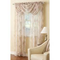 Light Pink Valance Laura Ashley Stowe Sheer Curtain Collection Boscov S