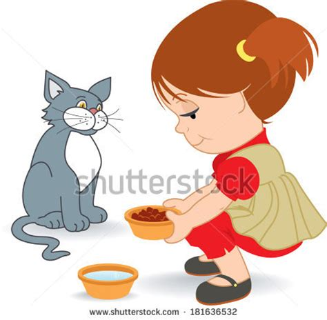 feeding cat stock images, royalty free images & vectors