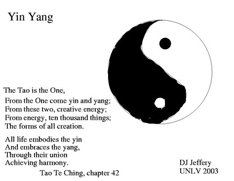 what does the yin yang symbolize yin yang quotes and sayings quotesgram