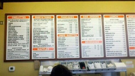 koa pancake house menu