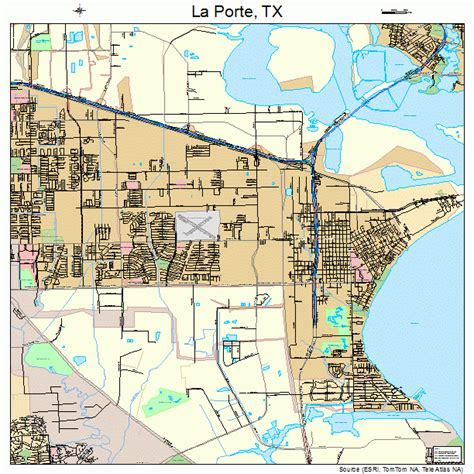 laporte texas map la porte texas map 4841440