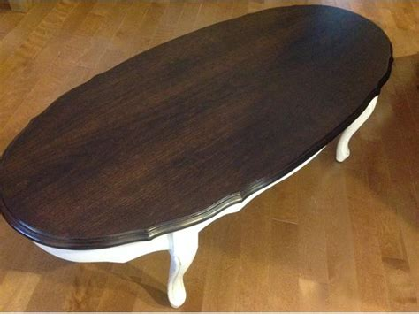 refurbished style coffee end table sooke