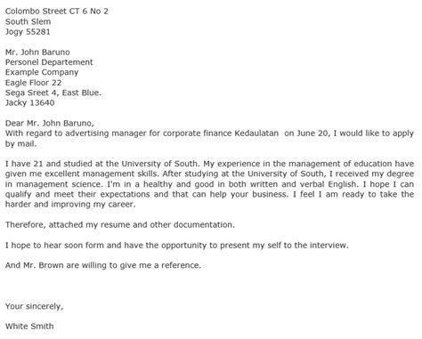 Rejection Letter For Volunteer Position Application Letter Template For Volunteer