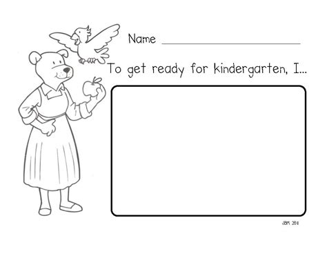 Miss Bindergarten Coloring Pages mrs fullmer s kinders how do you get ready for kindergarten