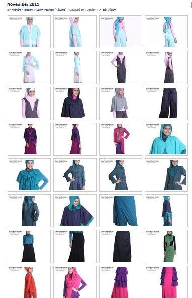 Busana 2 Colour trend fashion 2012 light color 187 filendra islamic