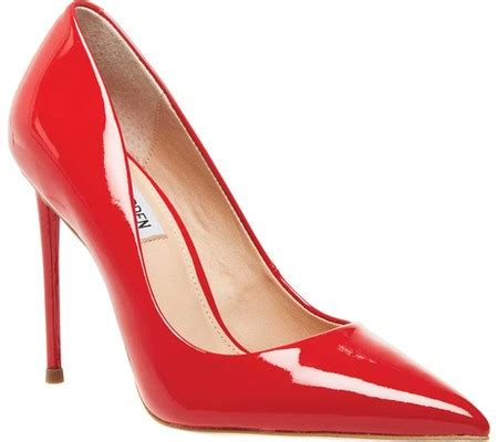 Steve Madden Vala Pumps by Womens Steve Madden Vala Stiletto Patent Leather Synthetic Free Shipping Exchanges