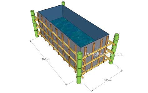 Harga Kolam Terpal Ikan Gurame cara pembuatan kolam ikan lele dari terpal ternakpedia