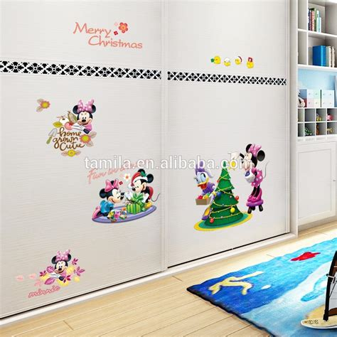 baby mickey mouse wall stickers removable glass door stickers wall stickers