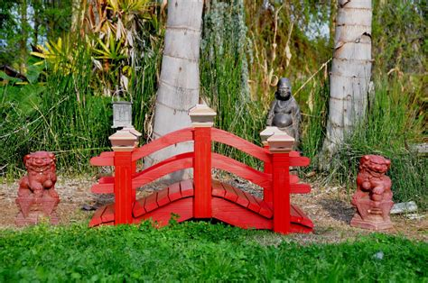 landscaping bridges handcrafted wooden arch bridges and japanese water garden