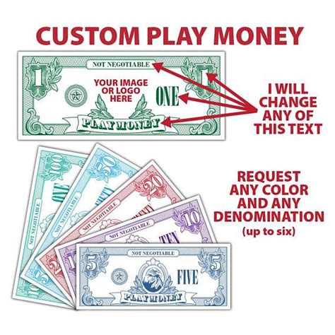custom play money template 142 best my print templates images on