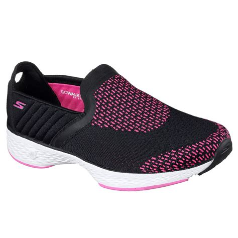Skecher Go Walk 4 Sport 2017 skechers performance go walk sport supreme womens sports shoes ebay