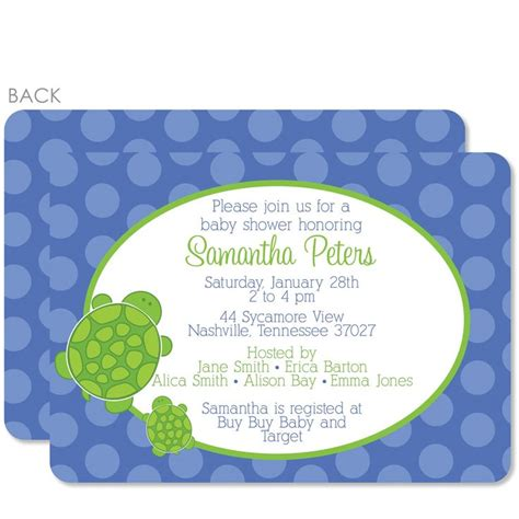 Turtle Baby Shower Ideas by Best 25 Turtle Baby Showers Ideas On Turtle