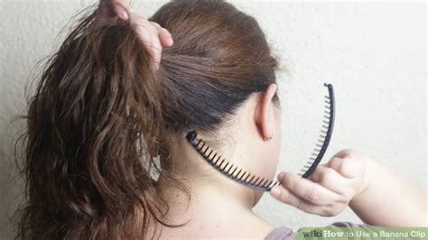 how to curl your hair and wear bananaclip banana clip hairstyles for short hair hairstyles