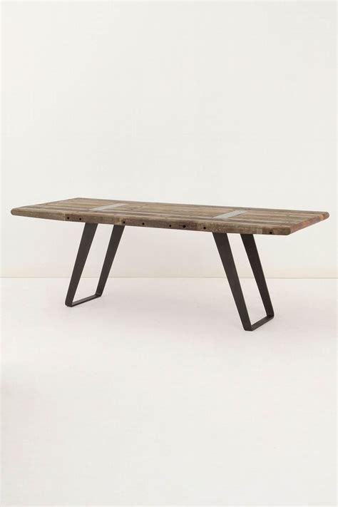 anthropologie lindo dining table  project peris apartment p