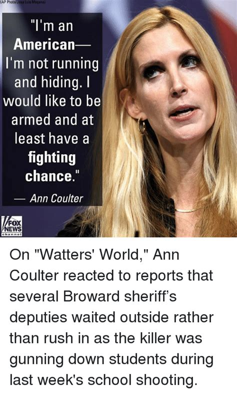 Ann Coulter Memes - ap photojose luis maganal l m an american i m not running