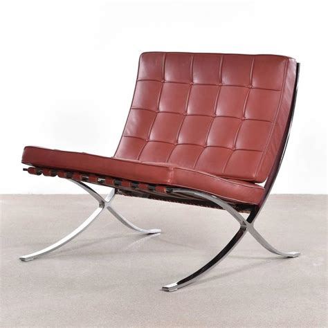 knoll barcelona couch barcelona chair by ludwig mies van der rohe for knoll for