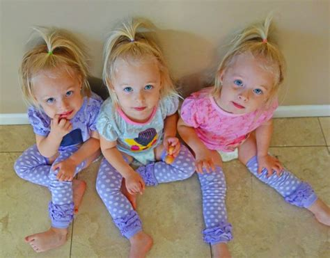 our identical triplet journey childs