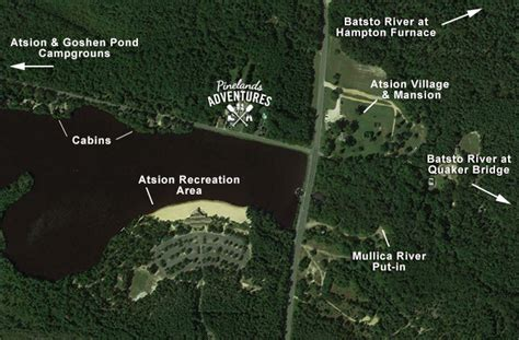 wharton state forest map discover atsion in wharton state forest pinelands adventures