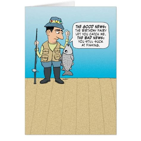 Insulting Birthday Cards Funny Insulting Fish Birthday Card Zazzle Com