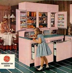 Retro Kitchen Cabinets For Sale by Ge Wall Refrigerator Freezer A 1955 Innovation 5
