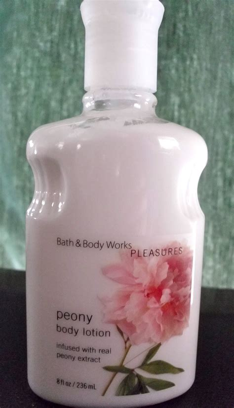 peony bath body works lotion discontinued body