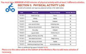 wellness plan template module 2 wellness plan sle