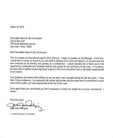 Resignation Letter Of Manager by Sle Manager Resignation Letter Exles In Pdf Word